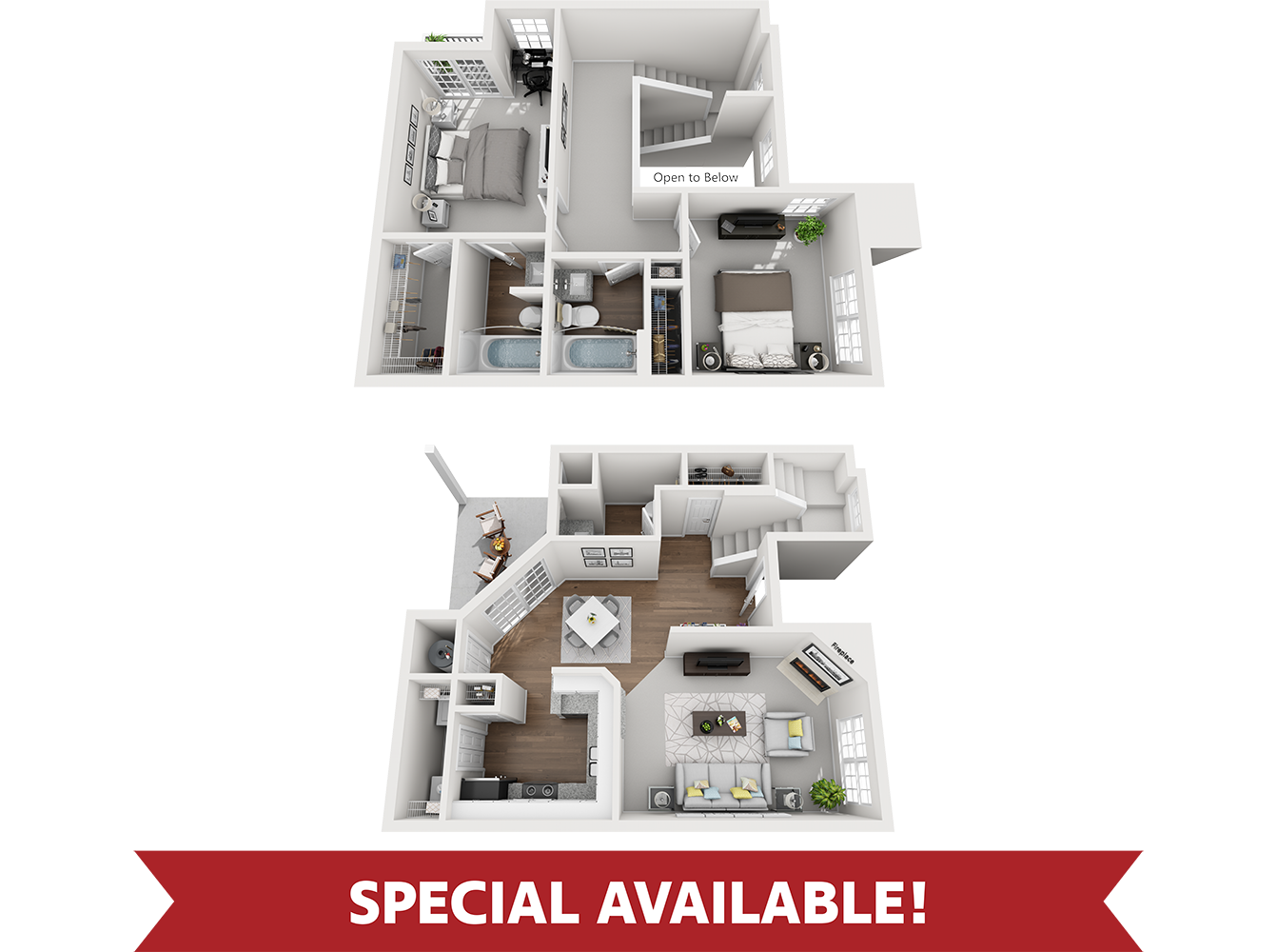 barberry floor plan with special
